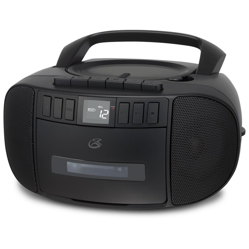 gpx portable stereo boombox