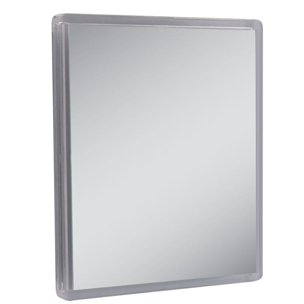 Zadro Fogfree Suction Cup Mirror in ClearZM01  The Home