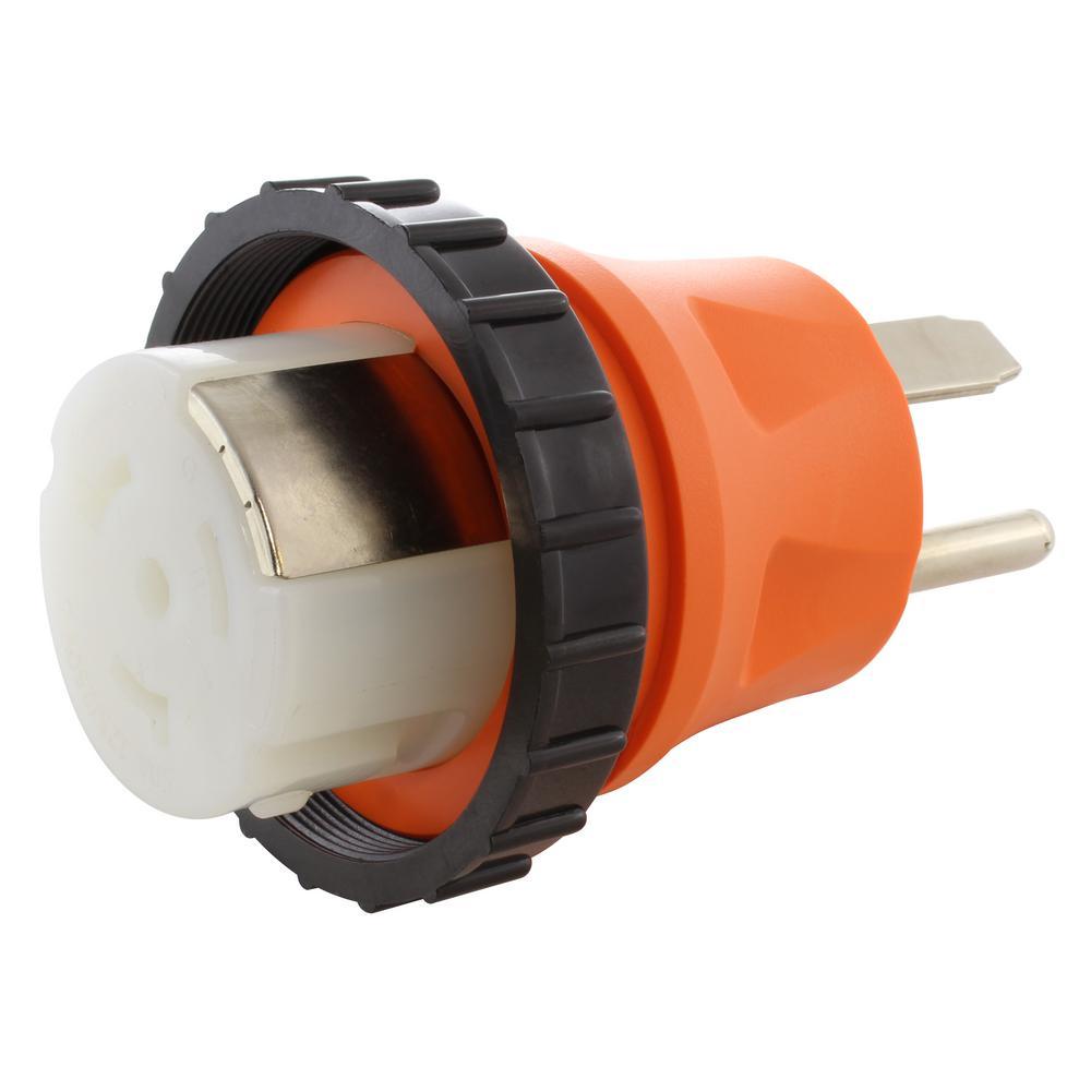hight resolution of ac works ac connectors nema 14 50p 4 prong 50 amp rv generator