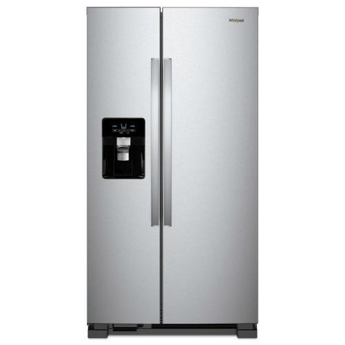 small resolution of whirlpool 25 cu ft side by side refrigerator in fingerprint resistant stainless steel