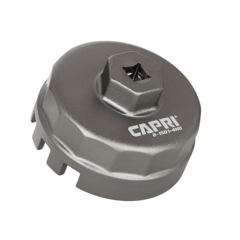 medium resolution of capri tools forged 1 8 l engine oil filter wrench