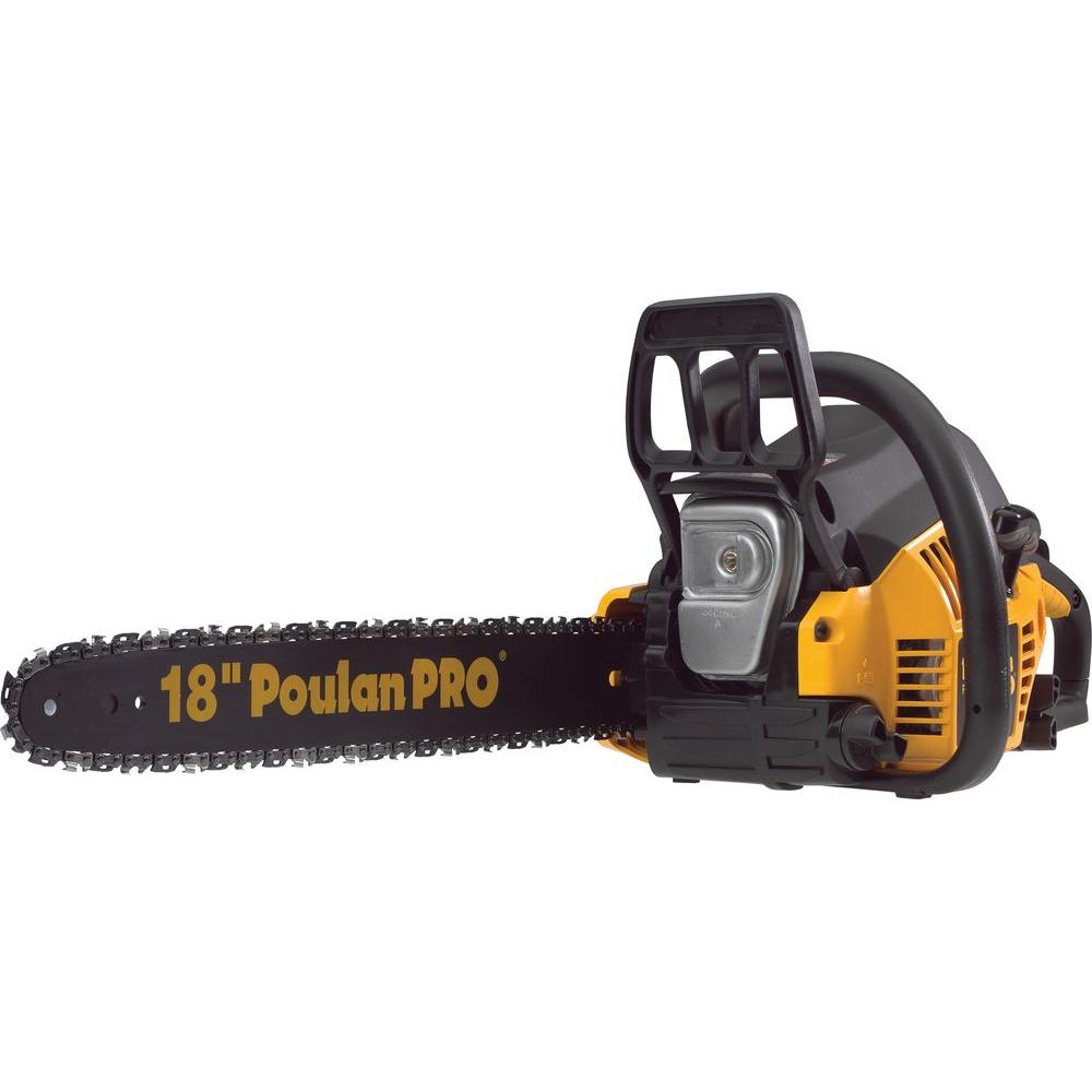 hight resolution of poulan pro 18 in 42cc gas chainsaw