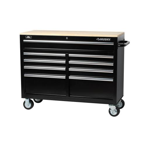 small resolution of d 9 drawer tool chest mobile workbench with solid wood top