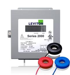 leviton series 2000 three phase indoor meter kit 80 volt 3p4 watt 200 [ 1000 x 1000 Pixel ]