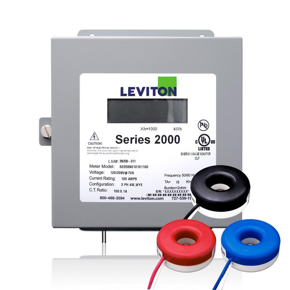 medium resolution of leviton series 2000 three phase indoor meter kit 80 volt 3p4 watt 200