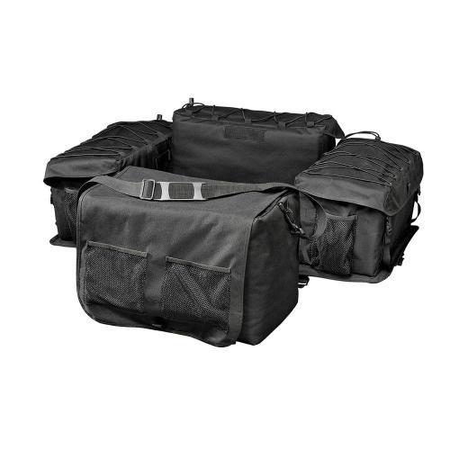 small resolution of raider deluxe black atv rack bag