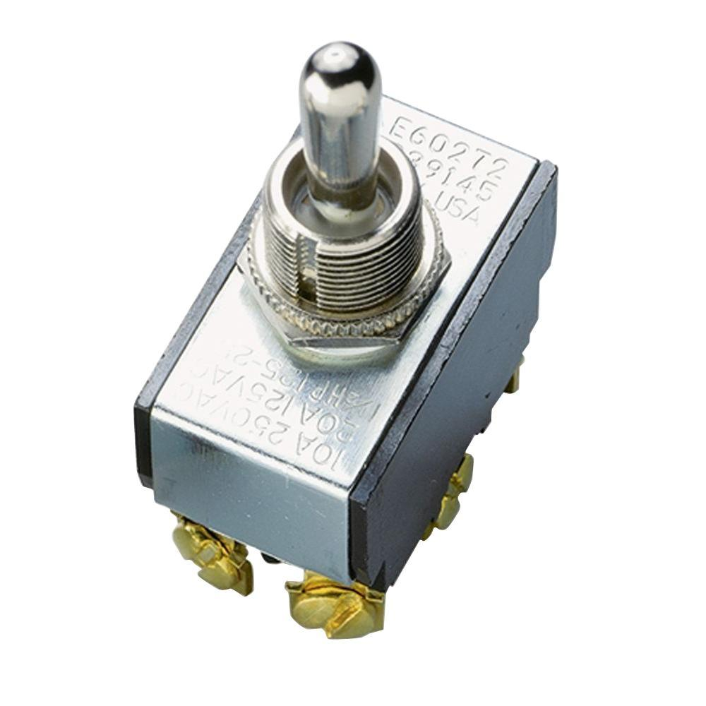 medium resolution of gardner bender 20 amp double pole toggle switch 1 pack gsw 16 pole on on dpdt mini toggle switch also can be wired as on off