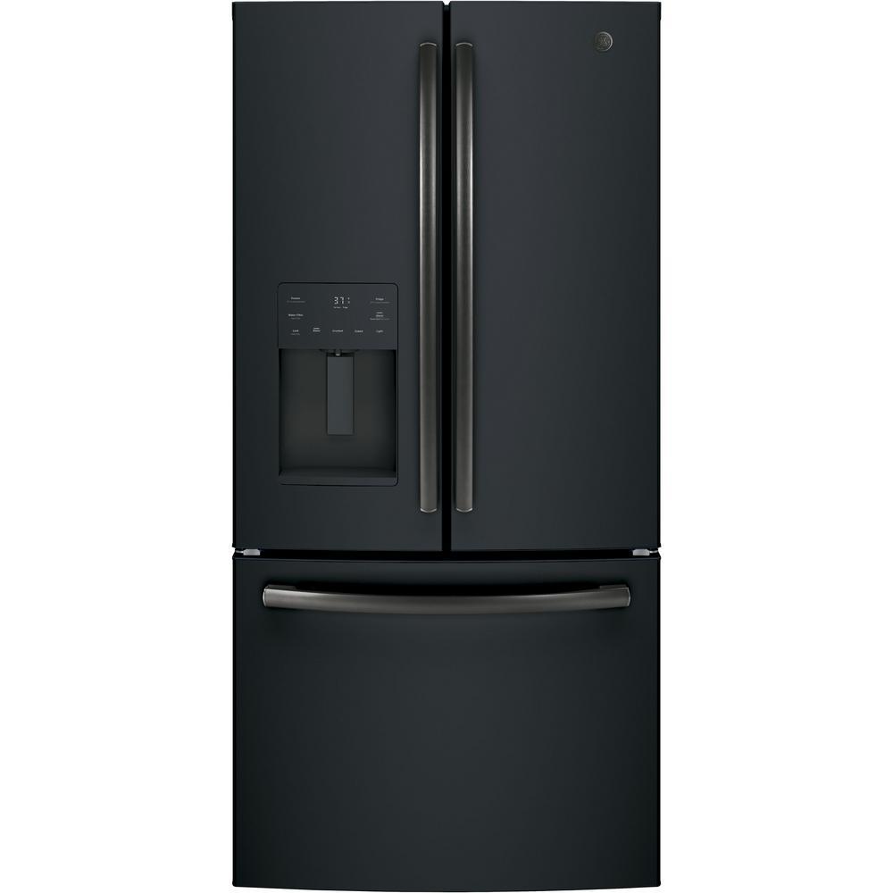 medium resolution of counter depth french door refrigerator in black slate