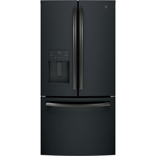 small resolution of counter depth french door refrigerator in black slate