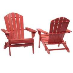 Cheap Plastic Adirondack Chairs Home Depot Rolling Dining Patio The Chili Red Folding Outdoor Chair 2 Pack