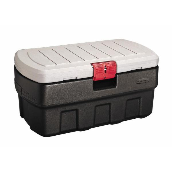 Rubbermaid 35 Gal. Action Packer Storage Tote-fg11910138 - Home Depot