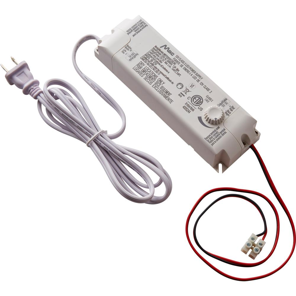 medium resolution of commercial electric 30 watt 12 volt led lighting power supply with dimmer