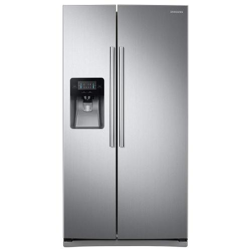 small resolution of samsung 24 5 cu ft side by side refrigerator in stainless steel