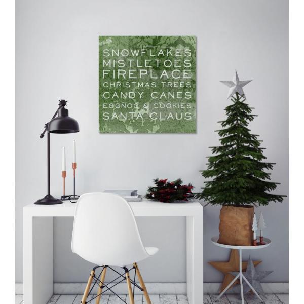 "Oliver Gal Artist . ""christmas List"""