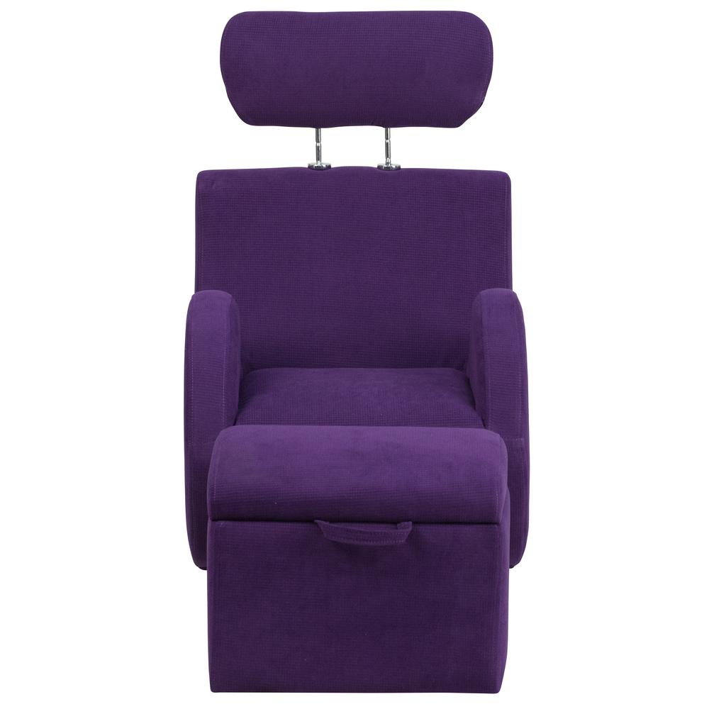ab rocker chair ground blind chairs with gun rest flash furniture hercules series purple fabric rocking storage ottoman ld2025pufab the home depot