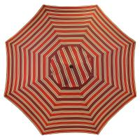 Plantation Patterns 11 ft. Aluminum Patio Umbrella in ...