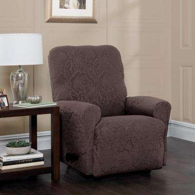 recliner chair covers grey dog beds slipcovers living room furniture the home depot stretch floral slipcover