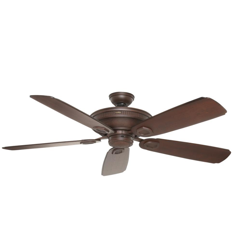 medium resolution of casablanca heritage 60 in indoor outdoor brushed cocoa bronze ceiling fan
