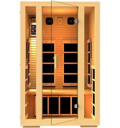joyous 2 person far infrared sauna [ 1000 x 1000 Pixel ]