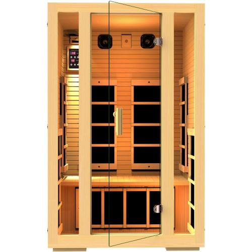 small resolution of joyous 2 person far infrared sauna
