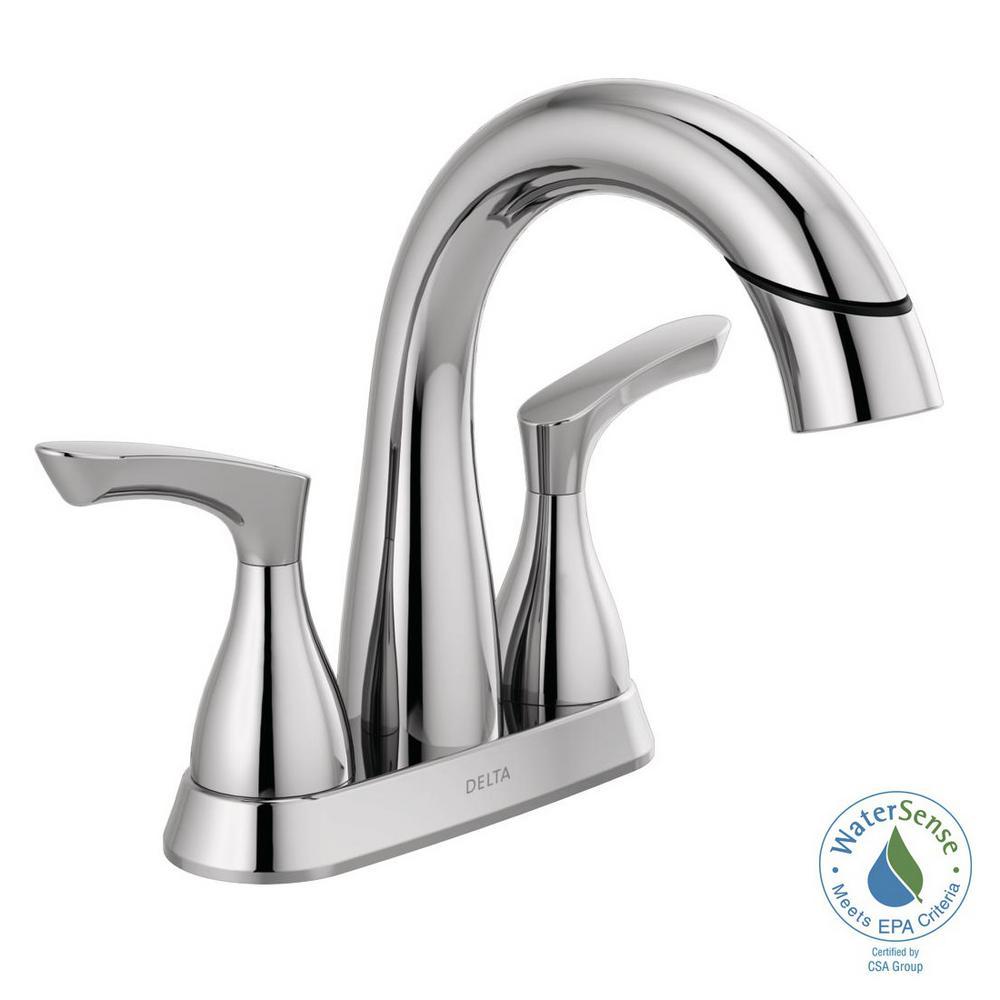 Symmons Allura 4 in Centerset 2Handle Bathroom Faucet