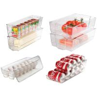 CULINARY EDGE 7 Piece Refrigerator and Freezer Stackable ...