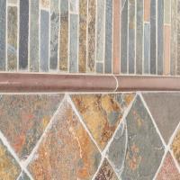 Jeffrey Court Satin Copper 11.5 in. x 12 in. x 8 mm Copper ...