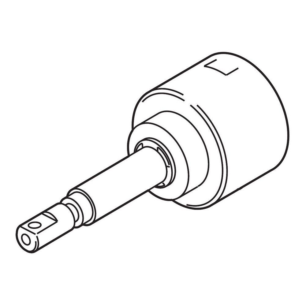 Delta Non-Shared 3-Function Diverter Cartridge Assembly