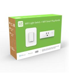 wemo wi fi light switch and smart plug bundle [ 1000 x 1000 Pixel ]