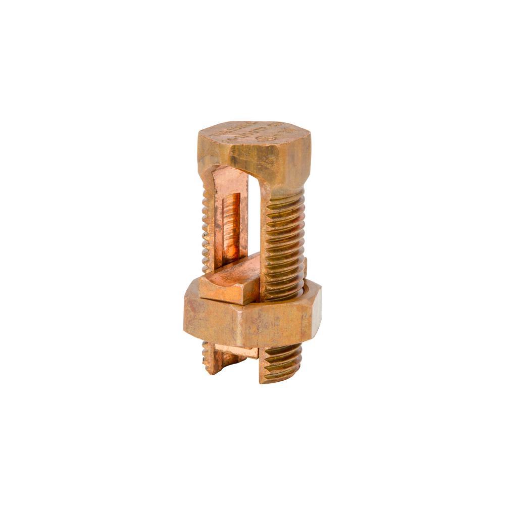 hight resolution of  6 sol str to 16 sol str split bolt wire connector