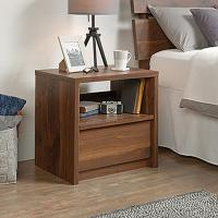 SAUDER Harvey Park 1-Drawer Grand Walnut Nightstand-420944 ...