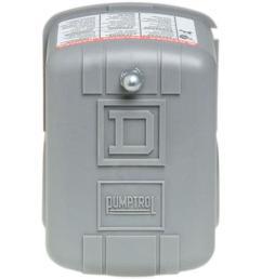 square d 20 40 psi pumptrol well pump water pressure switch [ 1000 x 1000 Pixel ]
