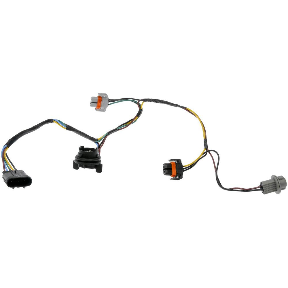 hight resolution of headlight socket and connector wire harness assembly 2008 chevrolet malibu 2 2l