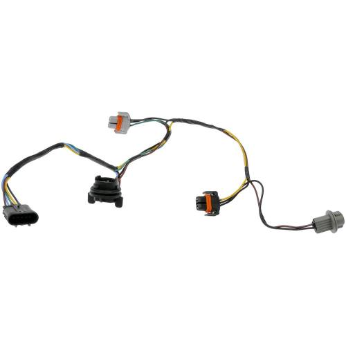 small resolution of headlight socket and connector wire harness assembly 2008 chevrolet malibu 2 2l