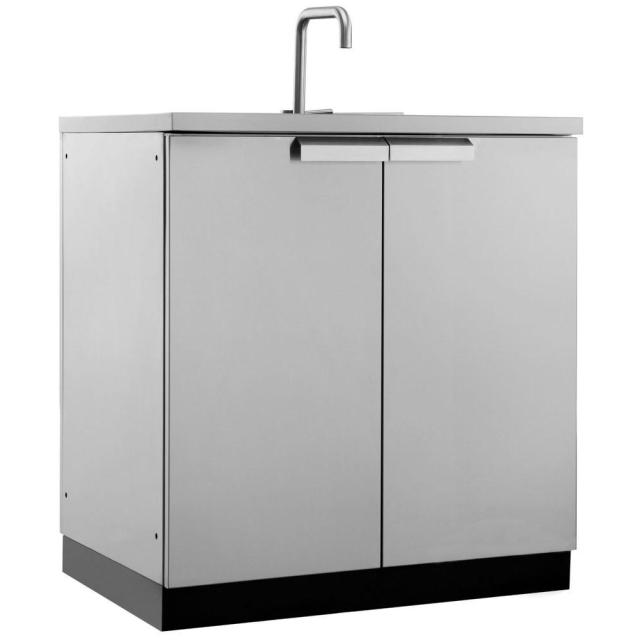newage products stainless steel classic 32 in. sink 32x35x24 in