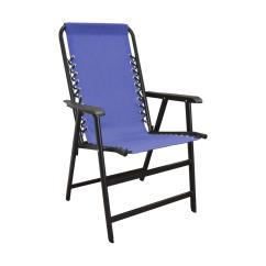 Blue Metal Folding Chairs Chair Covers For Furniture Caravan Sports Suspension Patio 80012000020 The
