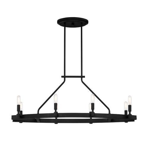small resolution of designers fountain fiora 8 light black linear chandelier