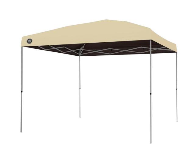 Shade Tech St  Ft X  Ft Instant Patio Canopy In Khaki