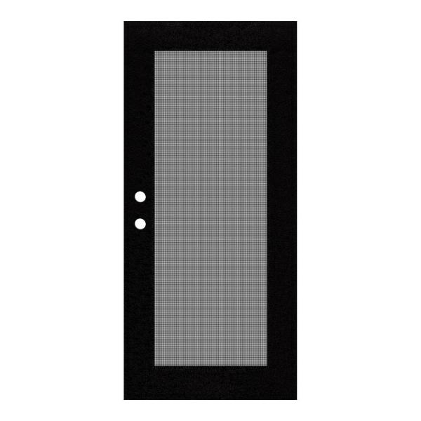 Unique Home Design 30 In. X 80 Full View Black