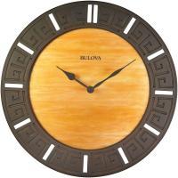 Bulova 18 in. H x 18 in. W Round Wall Clock-C4372 - The ...