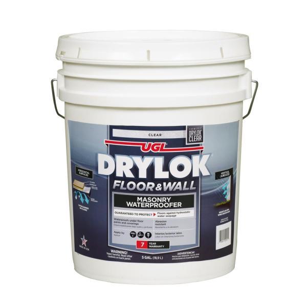 Drylok 5 Gal. Floor And Wall Masonry Waterproofer-20915 - Home Depot