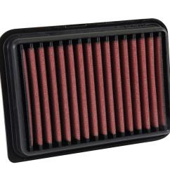 06 10 toyota yaris dryflow air filter [ 1000 x 1000 Pixel ]