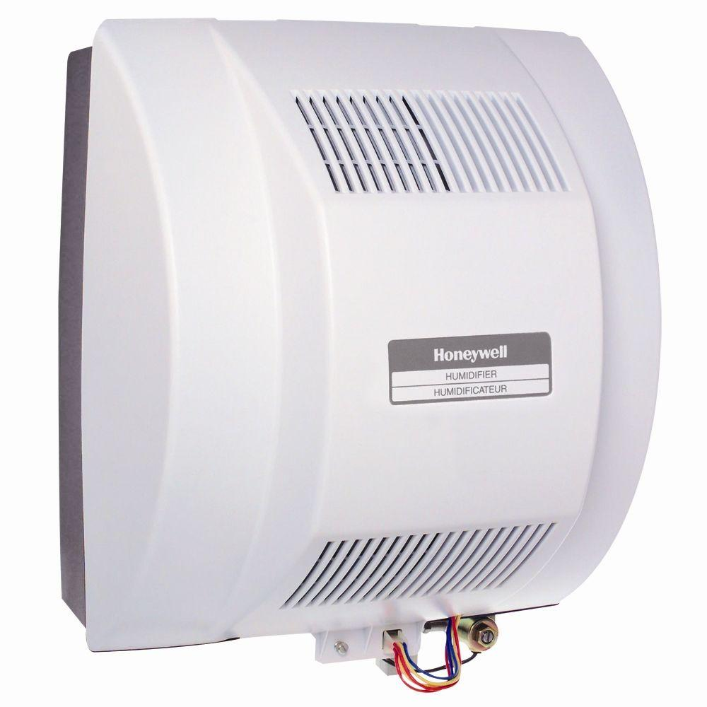 medium resolution of honeywell powered flow through whole house humidifier