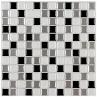 Instant Mosaic 12 in. x 12 in. Peel and Stick Mosaic ...