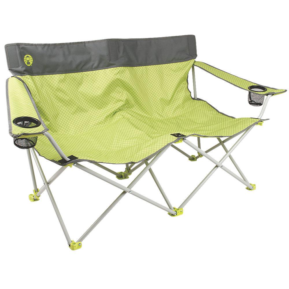 Double Camping Chair Coleman Quattro Lax Double Quad Chair