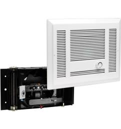 cadet sl series 3 000 watt 240 volt electric in wall fan heater white [ 1000 x 1000 Pixel ]