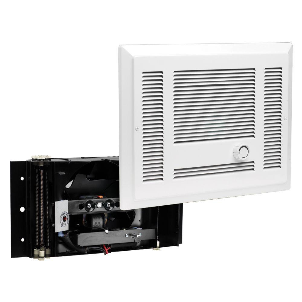 hight resolution of cadet sl series 3 000 watt 240 volt electric in wall fan heater white