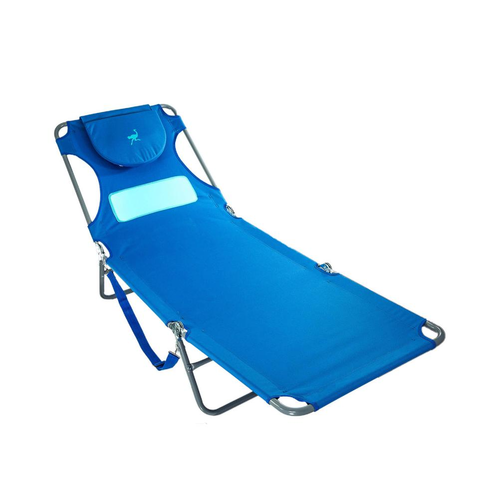 Aluminum Folding Chair Deltess Ostrich Ladies Blue Aluminum Folding Beach Chair