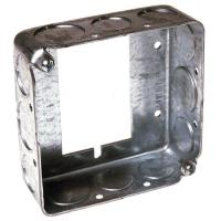 4 in. Square Drawn Extension Ring, 1-1/2 in. Deep with 1/2 ...