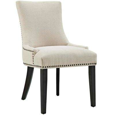 beige dining chairs lazy boy office kitchen room furniture the home depot marquis fabric chair